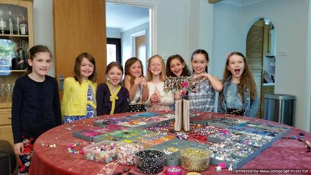 birthday party idea for 8 year old girls