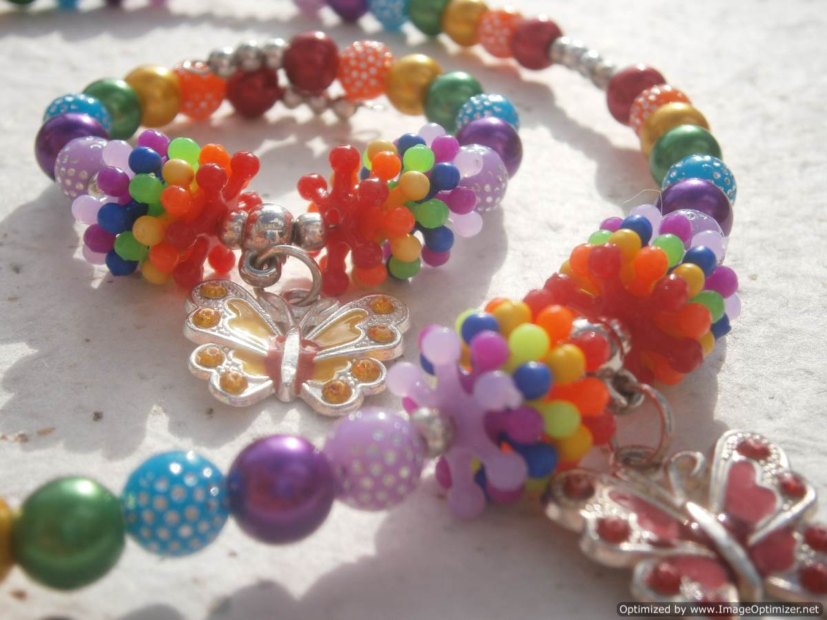 Jewellery Making Birthday Party Idea for 7-8 year old girls